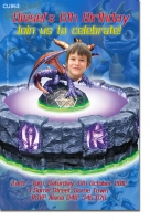 CU863 - Skylanders Birthday Invitation