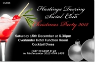 CU866 - Company Cocktail Christmas Party Invitation