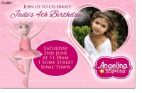 CU901 - Angelina Ballerina Invitation