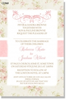 CU940 - Wedding Invitation Shabby Chic