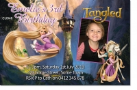 CU948 - Tangled Birthday Invitation