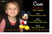 CU953 - Mickey Mouse Unisex Invite