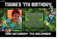 CU974 - Minecraft Birthday Invitation