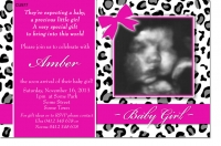 CU977 - Leopard or Cheetah Skin Baby Shower