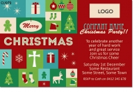 CU979 - Company Christmas Invitation