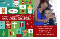 CU988 - Christmas Photo Card