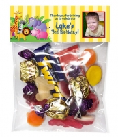 LB0696 - Jungle Themed Lolly Bag Header
