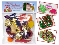 LB761 - Christmas Folded Lolly Bag Header