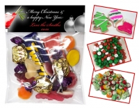 LB866 - Christmas Folded Lolly Bag Header