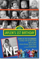 CU1031 - Sesame Street Birthday Invitation