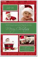 CU1164 - Christmas Card template