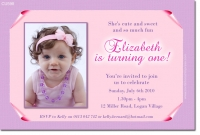 CU598 - Pretty Girls Photo Invitation Birthday