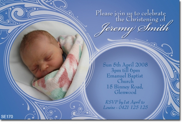 SE170 - Christening Boy - Jeremy
