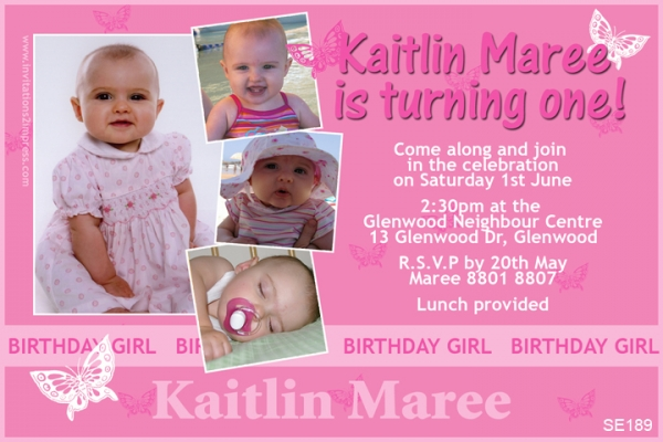 SE189 - Birthday Girl - Kaitlin