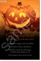 SE268 - Halloween - Orange Pumpkin