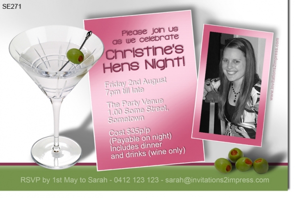 SE271 - Hens Night