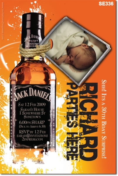 SE336 - Adult Birthday - Jack Daniels