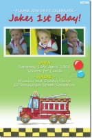 SE356 - Birthday Kids - Fire Truck