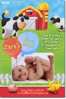 SE363 - Farm Animals invitation