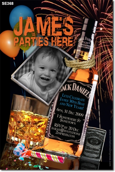 SE368 - Adult Birthday - Jack Daniels Party