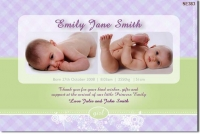 SE383 - birth announcement