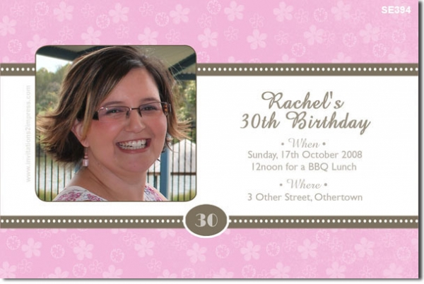 Se394 adult birthday flowers ladies birthday invitations se394 adult birthday flowers bookmarktalkfo Gallery