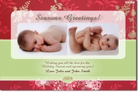 SE396 - Christmas Card - Pattern