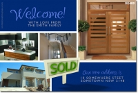 SE400 - Moving House - Welcome Sold Sign