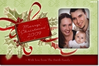 SE412 - Christmas Card - Holly