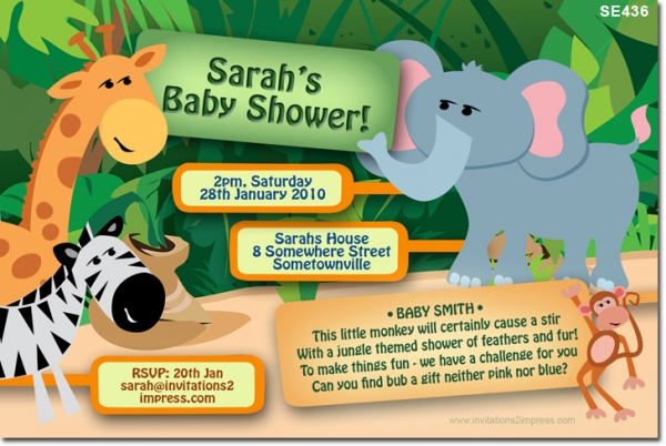 SE436 - Jungle Baby Shower